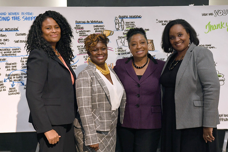 Successful Female Leaders group picture