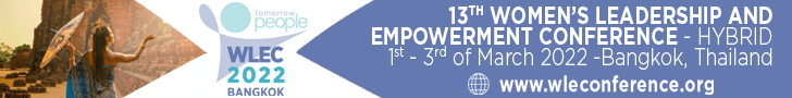 womens leadership and empowerment conference banner